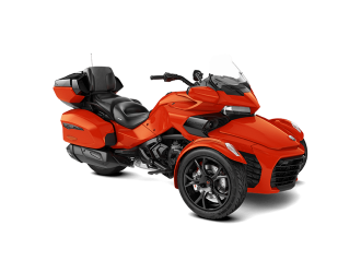 Can-Am Spyder F3 LTD Dark Magma Red Metallic '20