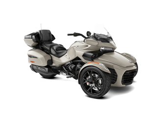 Can-Am Spyder F3 LTD Dark Liquid Titanium '20