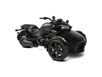 Can-Am Spyder F3-S Monolith Black Satin '20