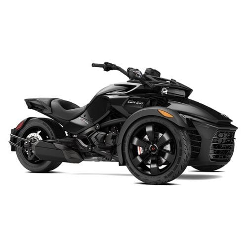 Can-Am Spyder F3 SM6 Steel Black Metallic '17